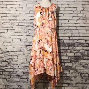 Donna Karen Abstract Dress